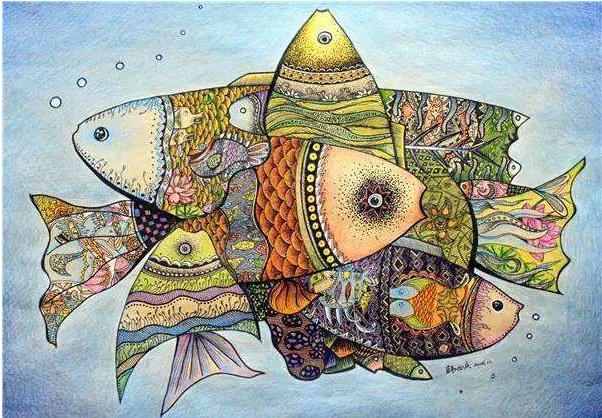 心境禅绕·画出自在-禅绕艺术公开课,开始你的第一张禅绕画